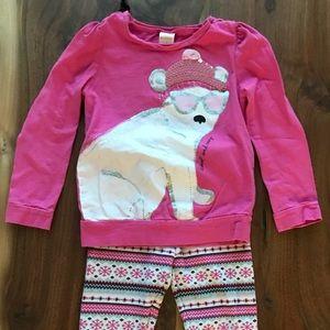 Gymboree Polar Bear Long Sleeve Shirt